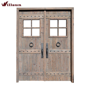 China Quality Supplier French Waterproof Exterior Extra Wide Exterior Doors