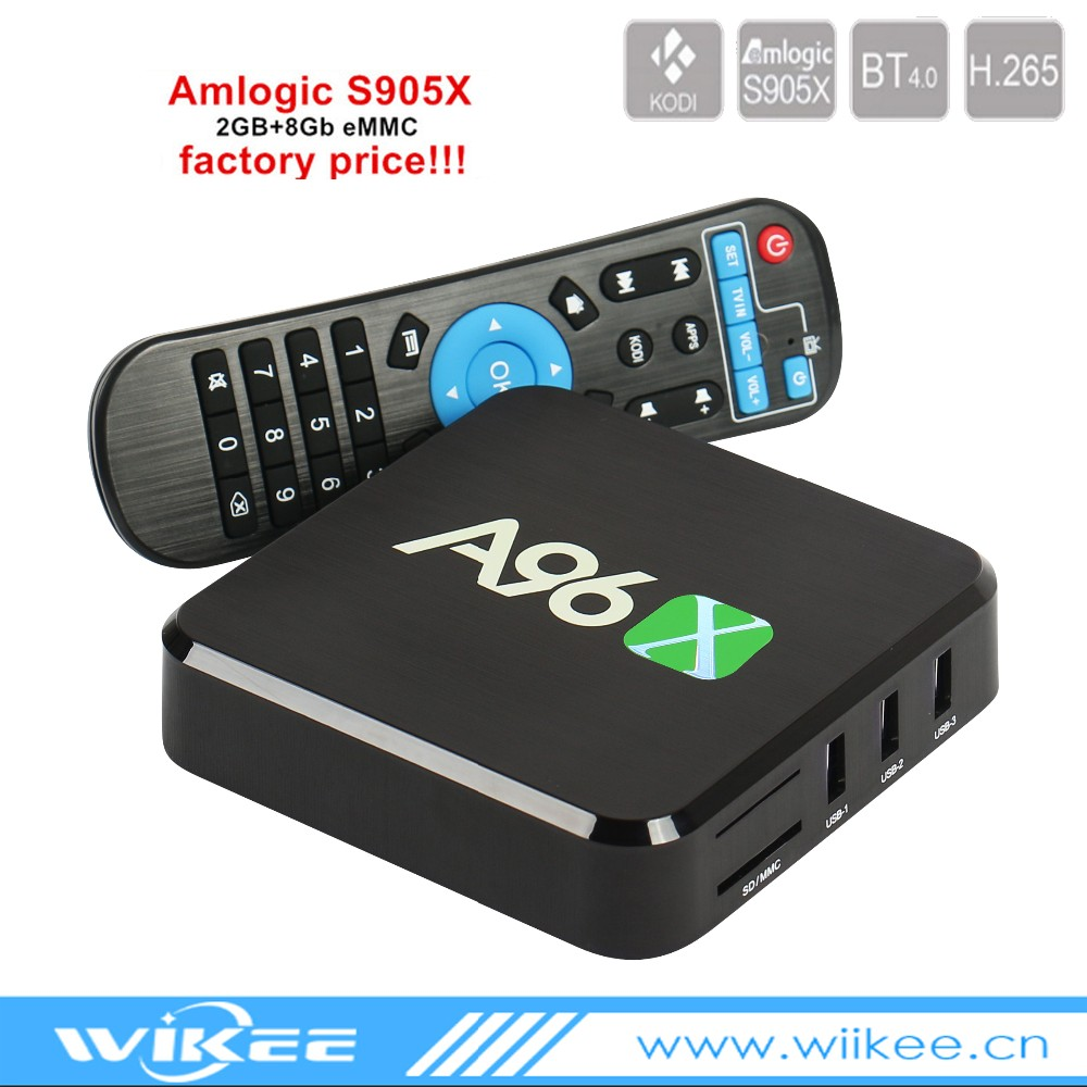 Cheapest A96X <strong>Amlogic</strong> S905x Android 6.0 1gb 8gb Smart <strong>Tv</strong> <strong>Box</strong>