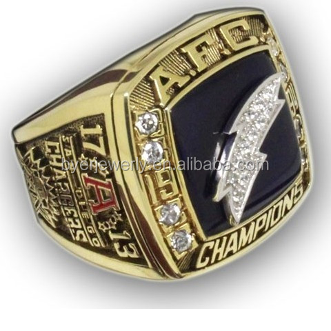 1994 San Diego Chargers AFC Championship RIng Beautiful Antique Rings