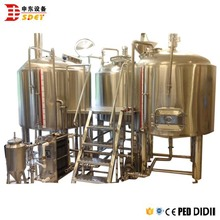 300l beer brewhouse fermentation vessel for wine brewing tank