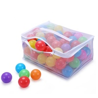 Wholesale 5000 cheap color plastic soft anti-flexible ocean ball pit balls