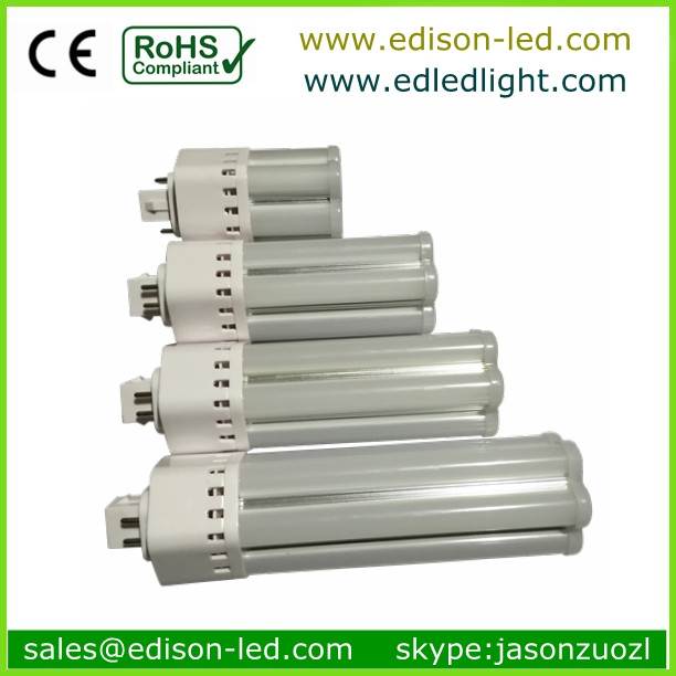 A Series 4w-14w 330lm-1150lm 124/146/164/192mm*35mm 24pcs-65pcs Smd 5630 Led Chip G23 And 2pin Or 4pin G24 Pl Led Tube Lamp