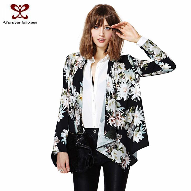2016 Spring Summer New Fasion Korean Printing Girl Cardigan New Style Cardigan For Women