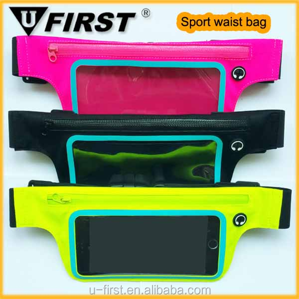 2015 New Fashion Casual Waist Pack Sport Running Bags Purse Mobile Phone pocket,unisex outdoor waterproof sport waist bag