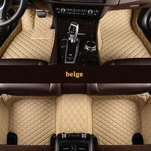 Автомобильные коврики kalaisike, изготовленные на заказ, для Maserati, все модели, GranTurismo Ghibli Levante quattroporte, автомобильные аксессуары, Стайлинг автомоб...(Китай)