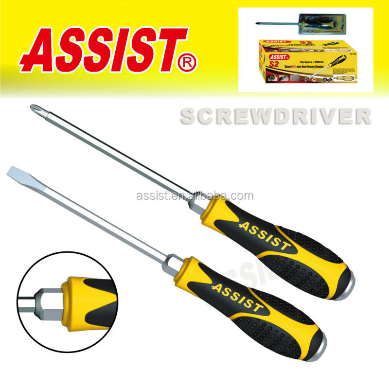 Safety ScrewDriver New design soft rubber handle screwdriver