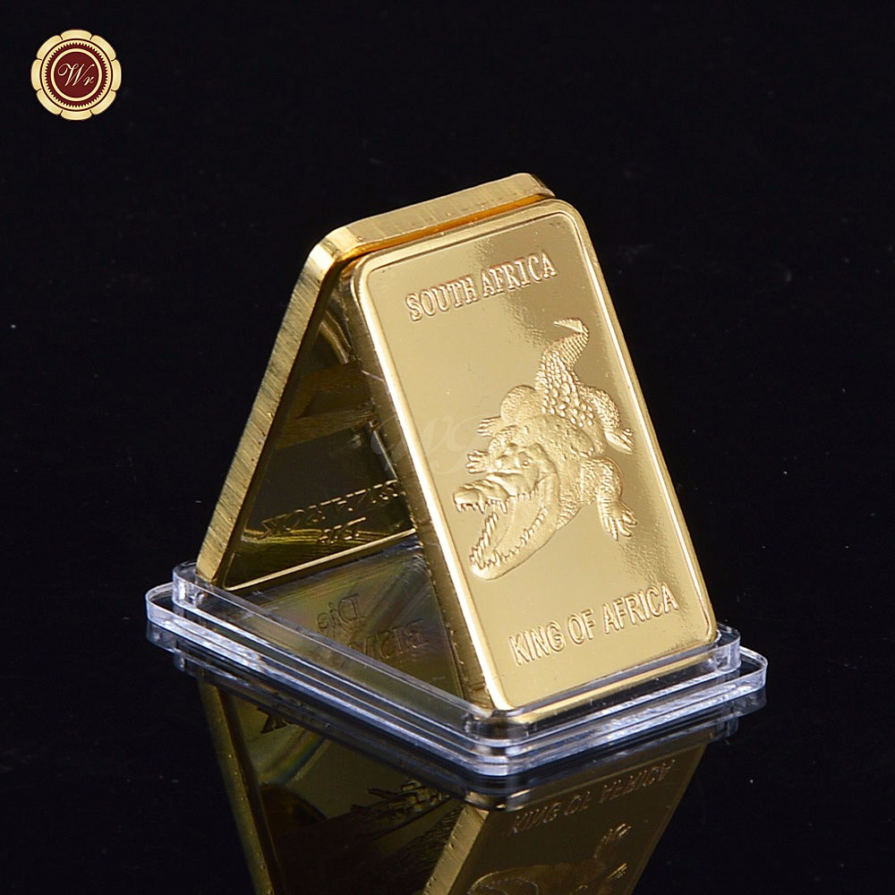 Real Gold Bar Deutsche 1 Oz Iron Metal