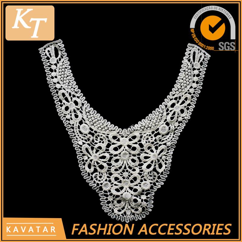 Venta al por mayor patrón de diseño del bordado del cuello-Compre ...