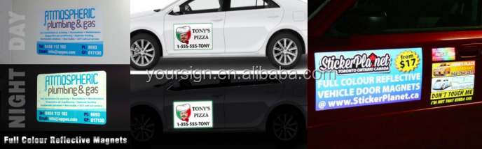Reflective Student Driver Magnetic Signs Decals,New Driver Magnetic Student Driver Car Signs