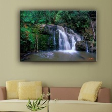 Beautiful forest and river landscape chinese outdoor canvas art painting