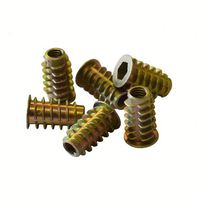 Factory price sales external and internal thread insert nut