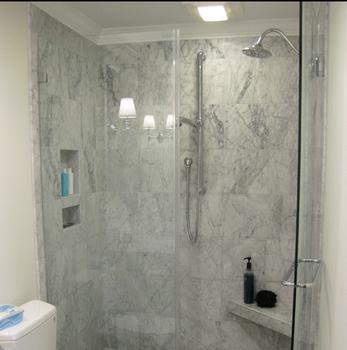 Bathroom Hotel Sliding Door Glass Shower Partition - Buy ...