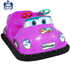 Indoor Adults and Kids Bumper Cars / Mini Electric Children Cars For Theme Park