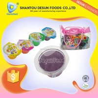 fruit cup jelly products in handbag