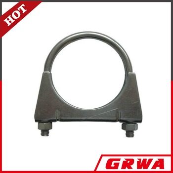 High Quality U Clamps Mild Steel Galvanized Exhaust U Clamps