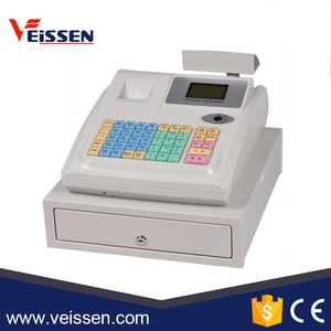 stock products cash drawer cash register cashier machine