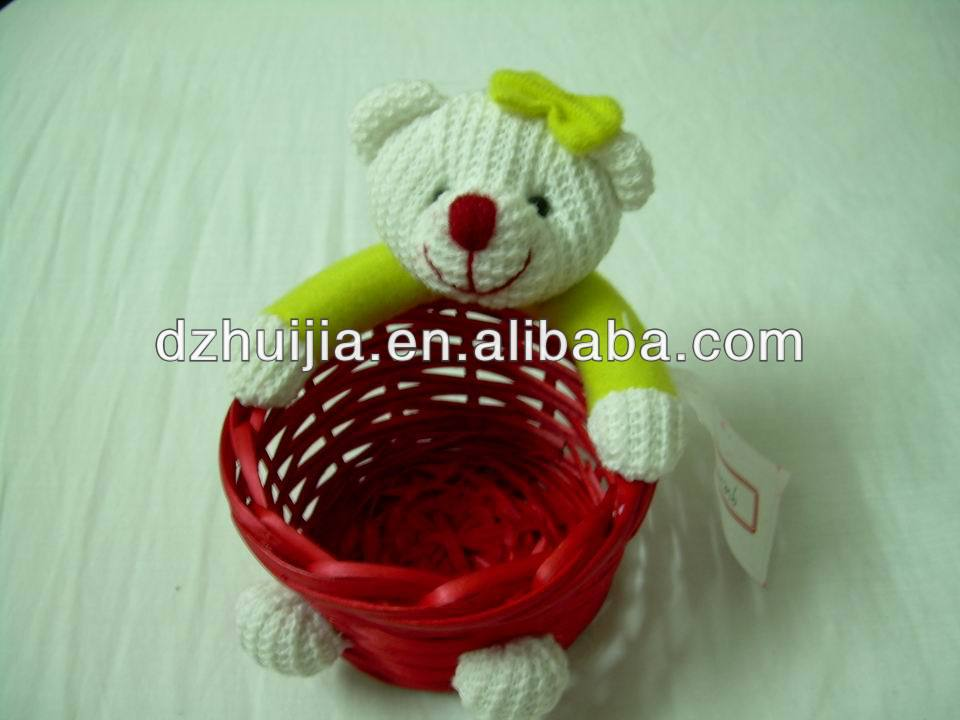 New Arrival 100% Nature Handmade Willow Basket Craft