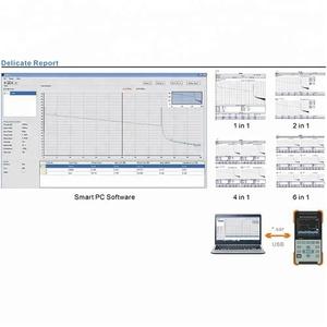 Alibaba Store Fiber Optic Test Mini OTDR meter AOR500-C 140km 1310/1550nm  36/34dB