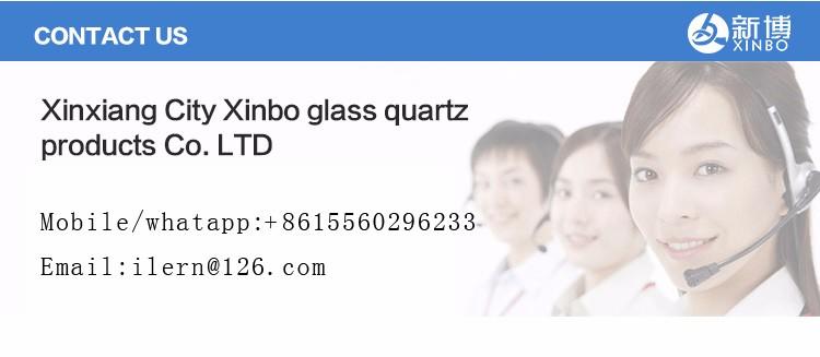中国製卸売吹きガラス色ホウケイ酸ガラス管