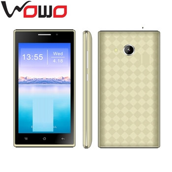 Cheap ultra slim Android Smartphones 4.5inch Dual Sim Mobile Phone 3G