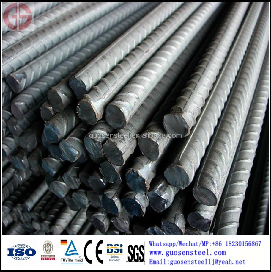 Mejor precio galvanizado de acero de barras de refuerzo y - Varillas de acero precio ...
