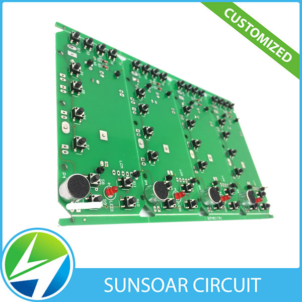 Shenzhen clone and design car am fm radio pcb circuit board with SMT