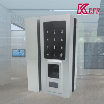 Card Capacity 100 Pcs Smart Glass Door Magnetic Lock For Hotel