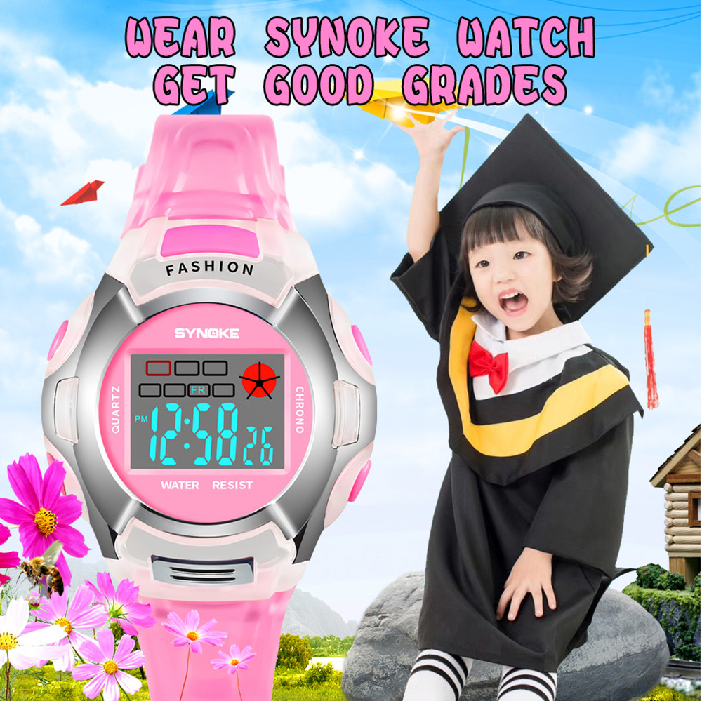 Children's Watches Objective Waterproof Children Sport Watch Boy Digital Led Quartz Alarm Date Sports Wrist Watch Relogio Infantil Relogio Menino Hot Sale