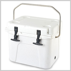 EXPO wholesale plastic medical ice chest cooler box / metal insulated cooler box