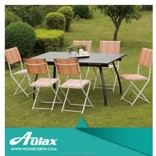 Luxury style garden european modern dining set