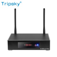 Tripsky New Arrive RK3328 Android 7.1 1Tb Hard Disk Smart Android Tv Box 4K Sata Hdd Blu-way Streaming Media Player