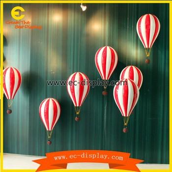 Fiberglass Model Hot Air Balloon For Window Display Props Buy Hot