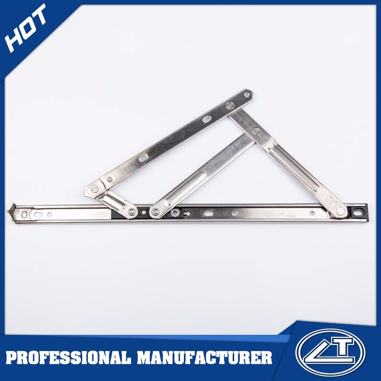 China supplier window stay , stainless steel window stay , friction window stay