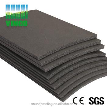 Soundproof Anti Vibration Mat For Gym Carpet Underlay