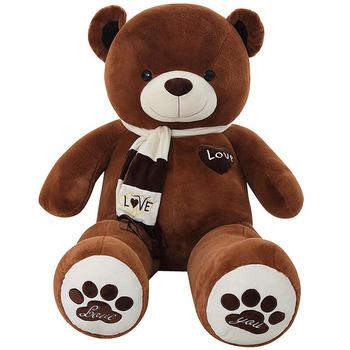 c9de2acb1699 D582 Teddy Bear XXXL Size 160cm Kids Soft Plush Teddies Big Large Giant  Child Toys Dolls