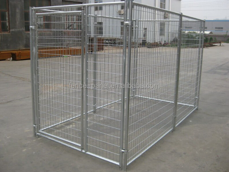Factory selling 6x10x6 indoor hot dipped galvanized metal for Design indoor dog crate