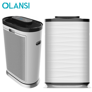 2019 New trending product portable PM2.5 UV light 600m3/h CADR 72m2 European room air purifier