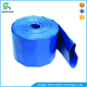 Flexible wear-resistant 6 inch pvc irrigation lay flat sunny hose
