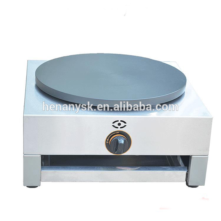 Gas SINGLE Plate Crepe Machine Snack Electric Hot Plate Crepe Maker Machine