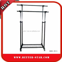 Heavy Duty Collapsible Wall Mounted Laundry Drying and Garment Rack