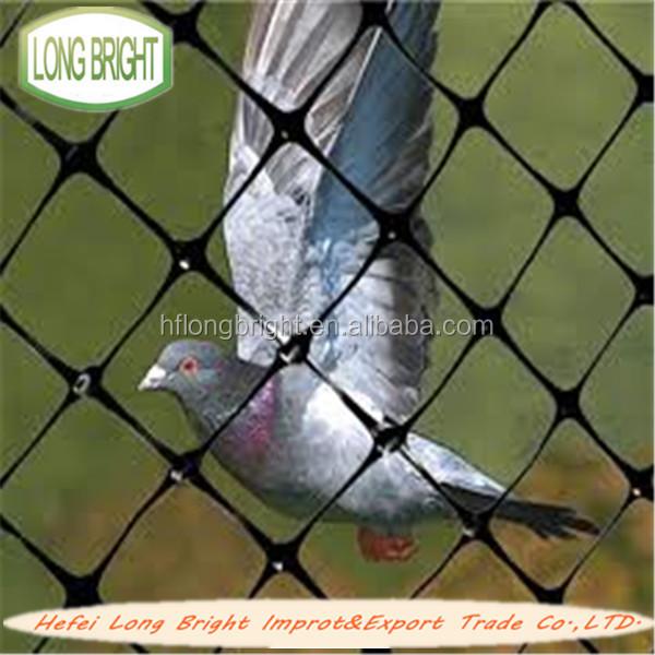 Plastic Extrude To Black Pigeon Net