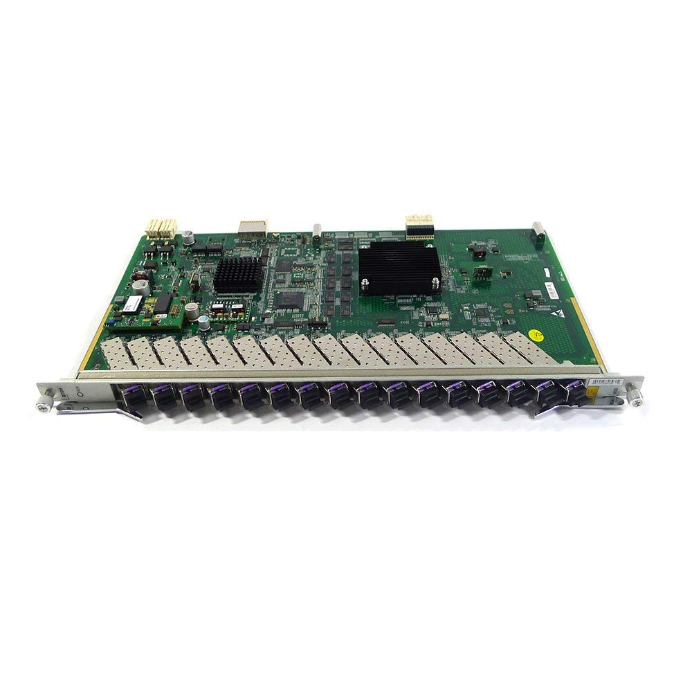 Generic card 16 ports GPON board GTGH for C300 C320 OLT, with 16 SFP modules, high integration level