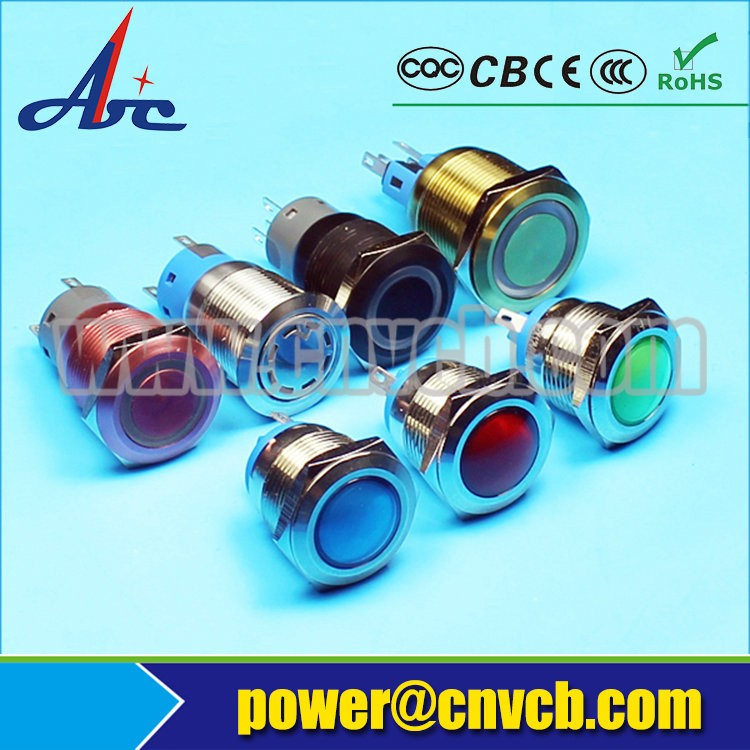 Waterproof Light Cover Latch Type Lamp Pushbutton Switches Emergency Start  Stop Mechanism Switch - Buy Push Button Lamp Switches,Push Button