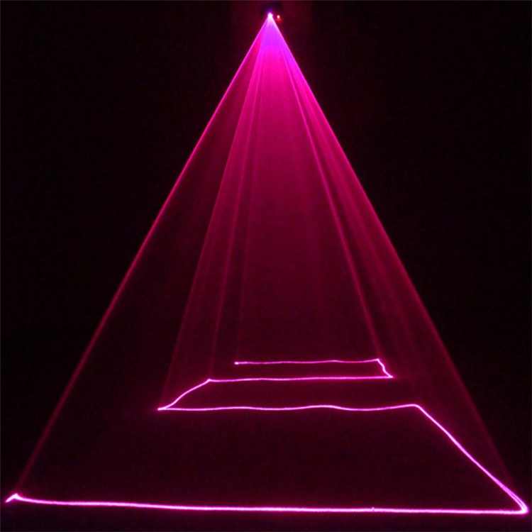Led Pink Bar Pubs DMX Scanner Laser Stage Lights 350MW