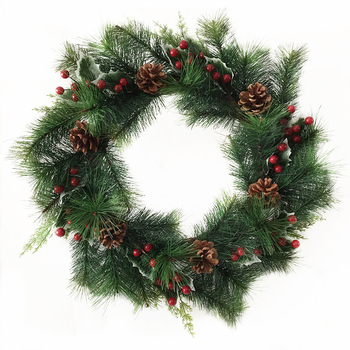 Handmade Mini Artificial Indoor Christmas Wreaths Bows ...