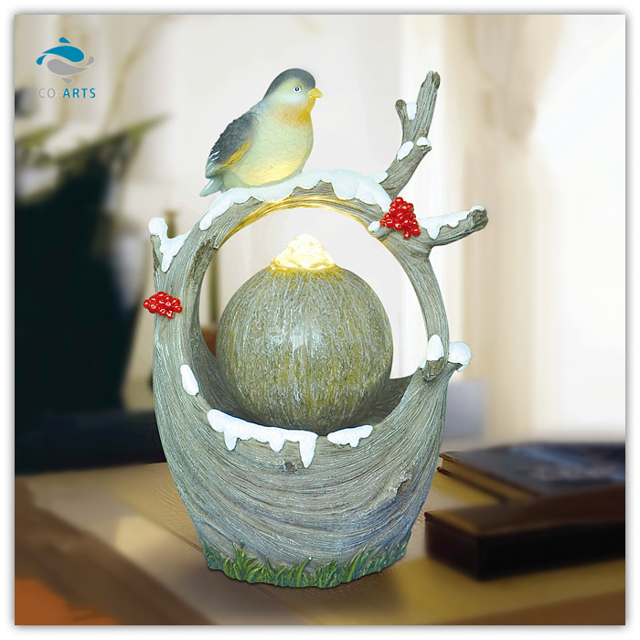 Attrayant Decorative Items For Living Room A Bird On The Branch Water Ball Fountain  Home Decoration   Buy Home Decoration,Water Ball Fountain,Water Ball  Fountain Home ...