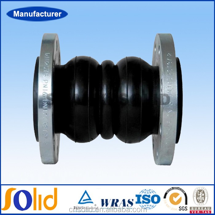 Double Sphere Flanged Flexible Rubber Joints