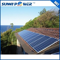 China wholesale 5kw portable solar power kit / solar panel system home 5kw off grid
