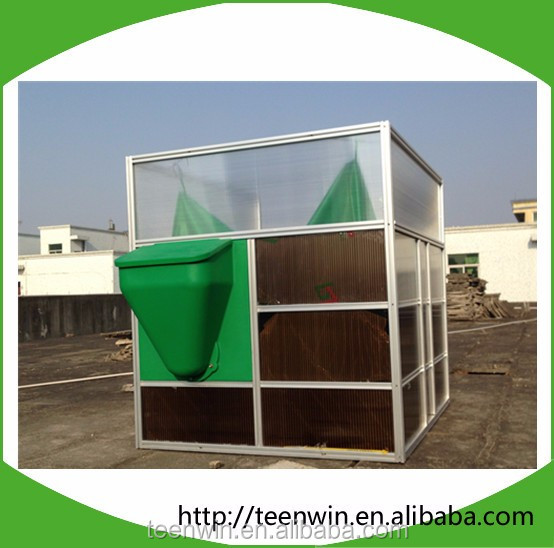 DIY assembly biogas reactor with biogas generator
