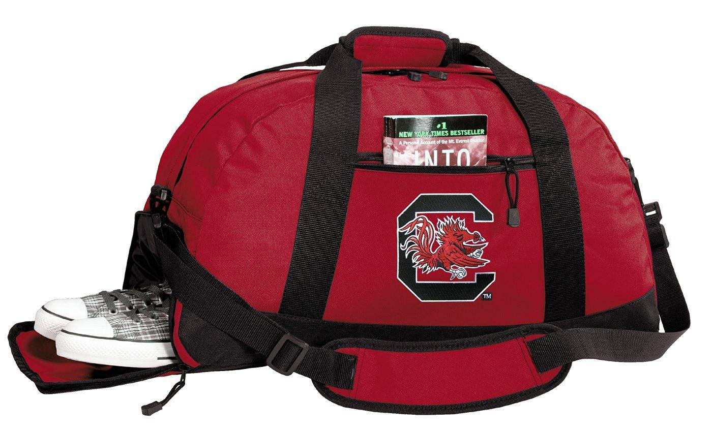University of South Carolina Duffle Bags - South Carolina Gamecocks Gym Bag w/ SHOE POCKETS